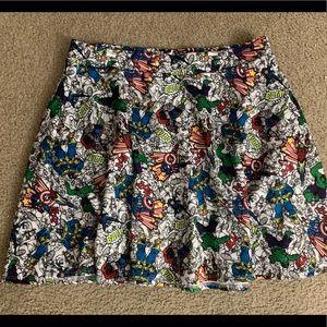 Never Worn - Torrid Avengers Skirt